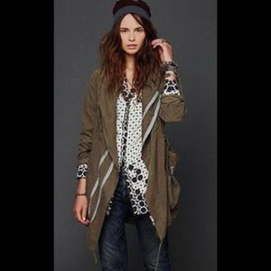 Pete & Greta military style jacket (free people)